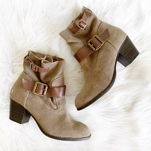 DV Dolce Vita Suede Ankle Booties